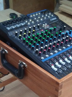 Detail Custom Sound System Case