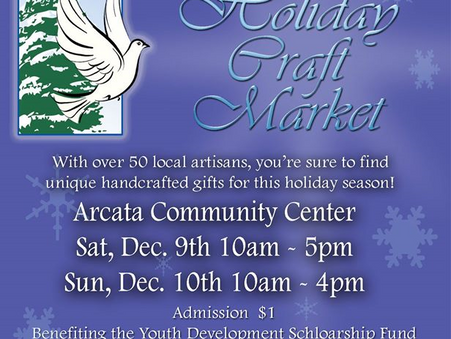 Holiday Craft Market, Arcata Community Center!