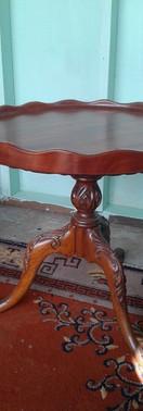 New Tabletop & Restored Antique Base