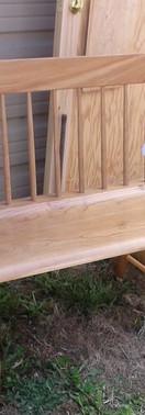 Maple Windsor Bench