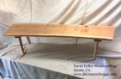 Douglas fir Bench