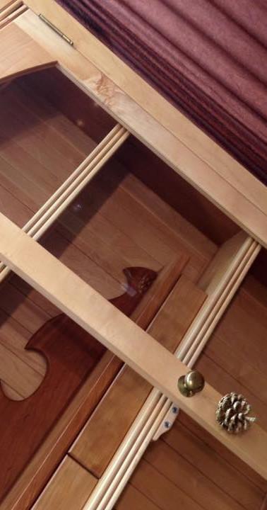Maple Hutch Detail