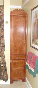 Redwood & Alder Bathroom Cabinet