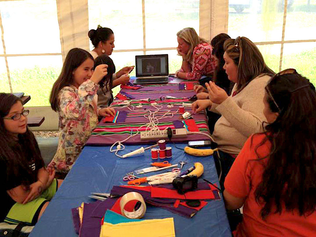 Osage Nation Cultural Gathering Workshop Concept and Event Production & Coordination: Osage Nation Language, Cultural Center, Museum, and Historic Preservation department workshops. This event was in association with the Osage Cultural Dept. & Northern California Osage Committee, Petaluma CA, 2013.