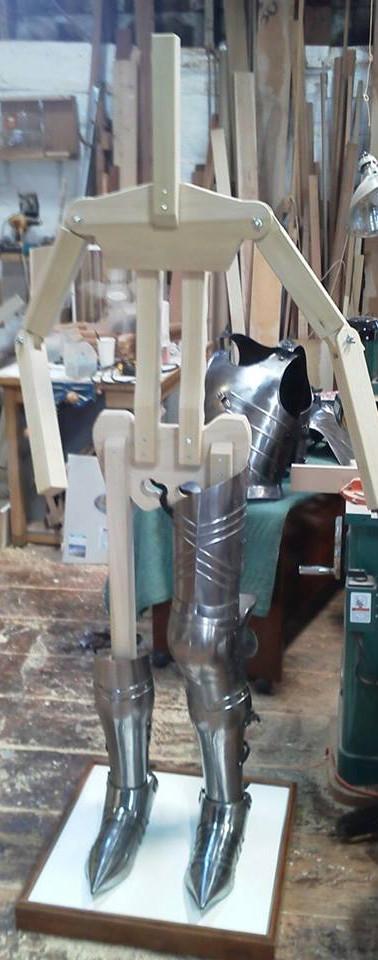 Custom Wood Body Armor Stand