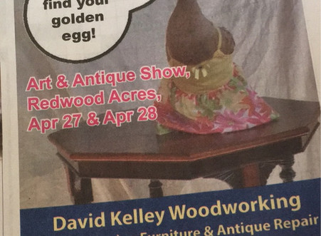 Art & Antique Show, Redwood Acres.