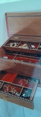 Custom Inlay Jewelry Box