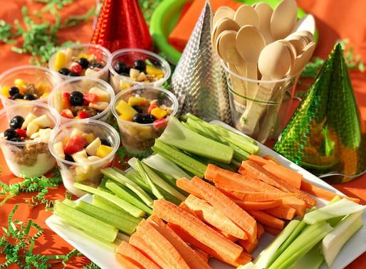 Decile SI, a comer sano en las fiestas.