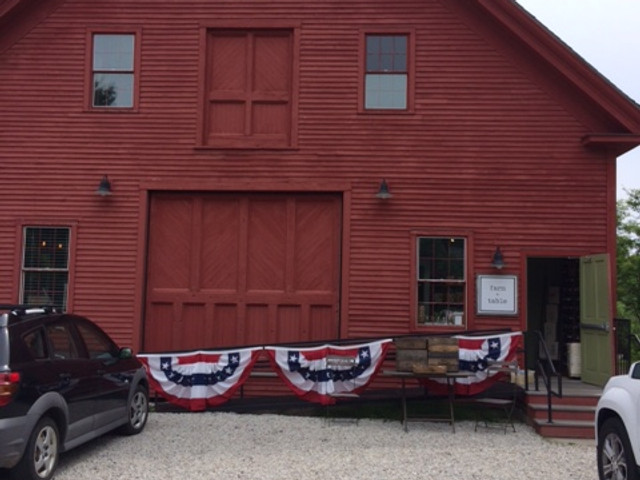 Farm + Table red barn exterior Kennebunk