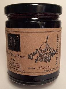 elderberry jam, ergo elderberry
