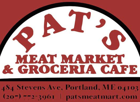 Tasting at Pat's Meat Market