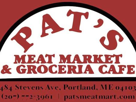 Tasting at Pat's Meat Market