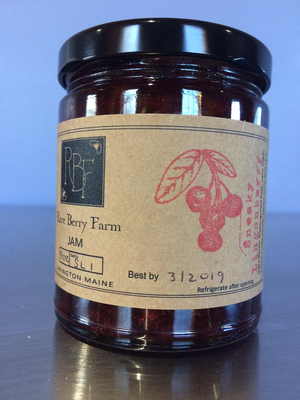 Sneaky Lingonberry Jam