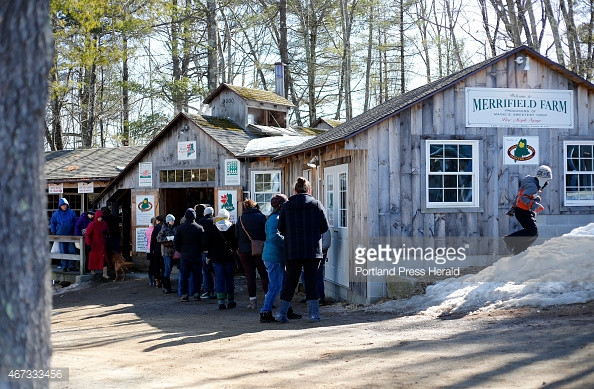 Merrifield Farm sugar shack