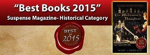 Suspense Magazine Best Books, The Alchemist's Daughter, Mary Lawrence