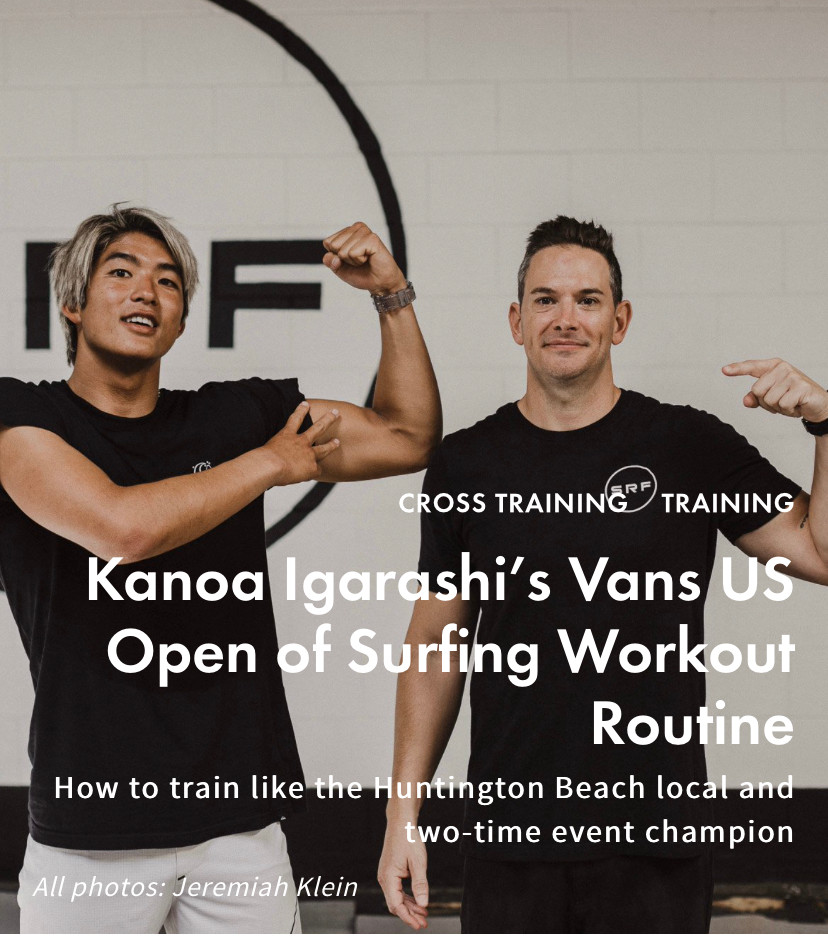 Kanoa Igarashi and Paul Norris team up for a US Open Workout