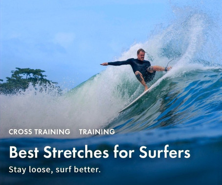 Best Stretches for Surfers
