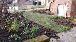 Front Garden Border Reshape