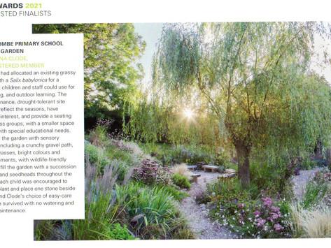 "Sedlescombe School Sensory Garden in The Garden Design Journal ""The SGD Awards 2021 Shortlist"""