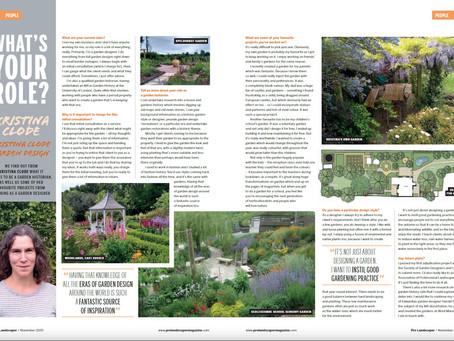 KCGD in Nov Pro Landscaper Magazine