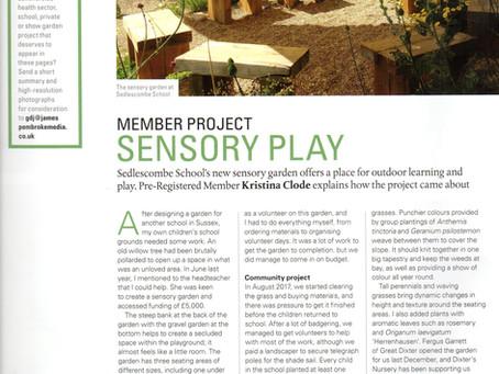Sedlescombe School Garden featured in December's Garden Design Journal.