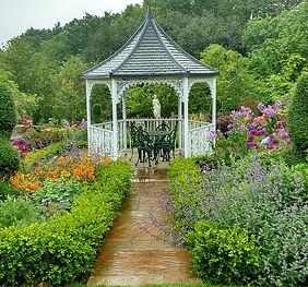 Woodlands Flower Garden Early Summer