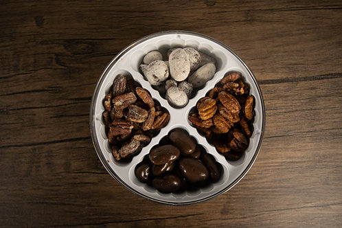 Gift Tins W/4 Flavors of Pecans 2lb.