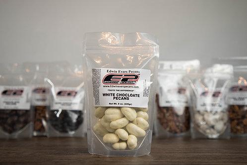 White Chocolate Pecans 8 oz.