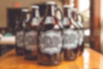 Hilton Head Brewing Company Growlers