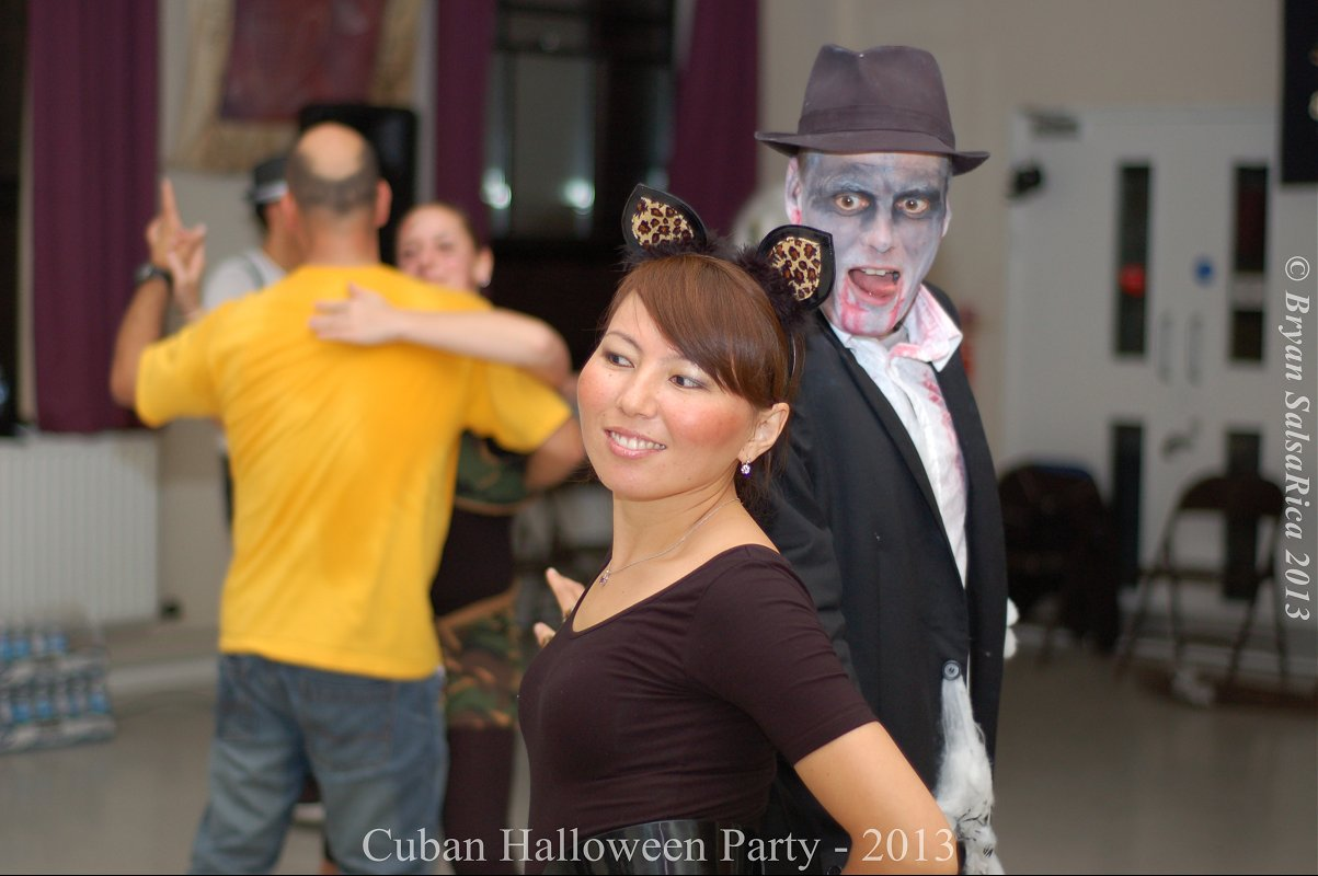 Halloween Cuban Salsa Party