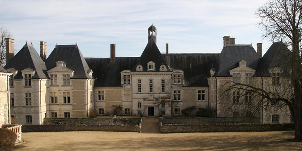 Visite du château de Marcilly sur Maulne
