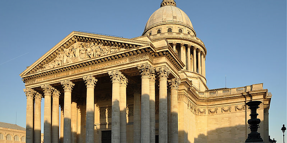 Paris : Panthéon et Val de Grâce