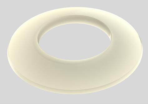 Silikonowy pierścień uszczelniający TRIO SILTAC™ / płaski/