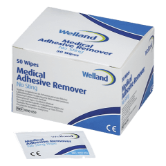 Gaziki do zmywania skóry Welland Adhesive Remover