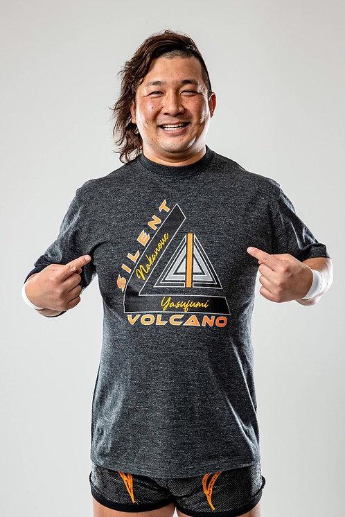 "Yasufumi Nakanoue ""SILENT VOLCANO"" T-shirt"