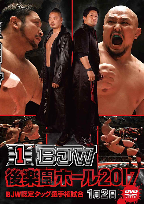 "Big Japan Prowrestling in Korakuen Hall  DVD-R series""1th 2017.January 2""(0.2kg)"