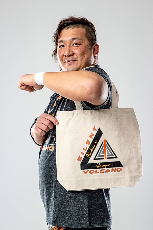 "Yasufumi Nakanoue""SILENT VOLCANO""tote bag(0.25kg)"