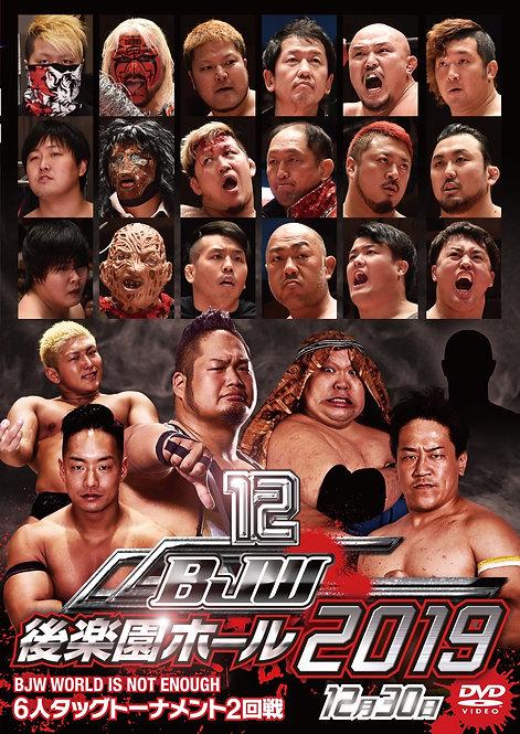 "Big Japan Wrestling Korakuen Hall DVD-R series ""12th in 2019 December 31"" (0.2kg"