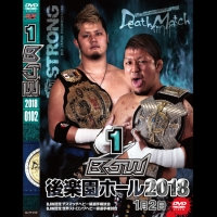 "Big Japan Wrestling Korakuen Hall DVD-R series ""First in 2018 January 2""(0.2kg)"