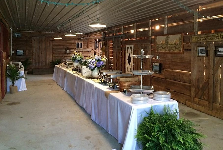 Barn food display