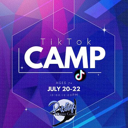tik tok camp - Made with PosterMyWall.jp
