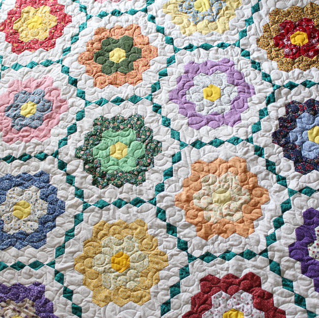 Little flowers pantograph