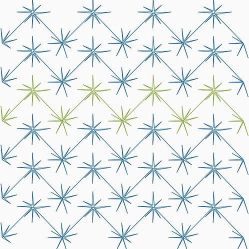 Chevron Stars - digital longarm quilting design