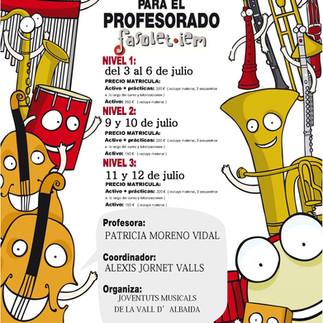 Matrícula cursos de Formación de Profesor Fasolet-IEM