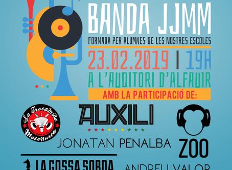 La Banda JJMM de la Vall d'Albaida oferirà un concert amb cantants valencians