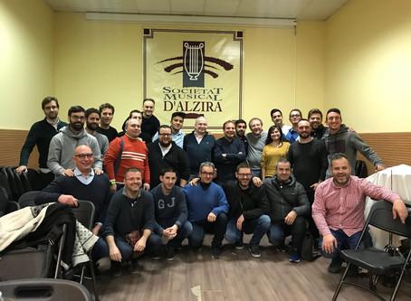 Termina el Curso 2017/18 del Aula de Dirección de Banda Emusvall