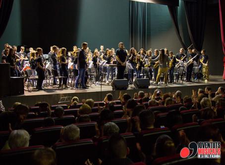 Gràn èxit de participació al Concert de la Banda JJMM de la Vall d'Albaida cel·lebrat a Alfauir