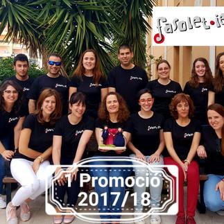 Termina el Curso anual de Formación de Profesorado Fasolet-IEM de Gandía