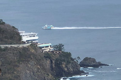 大島への高速船