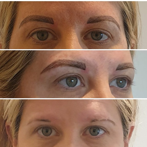 Microblading,  permanent eyeliner,  permanent lip color.